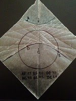 fold hyperbola